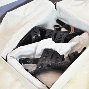 NEW! Strappy Heels Slingback Sandals Black BCBG 9